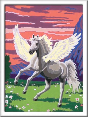 Ravensburger 277919 Malen Nach Zahlen Serie Pferd Traumhafter