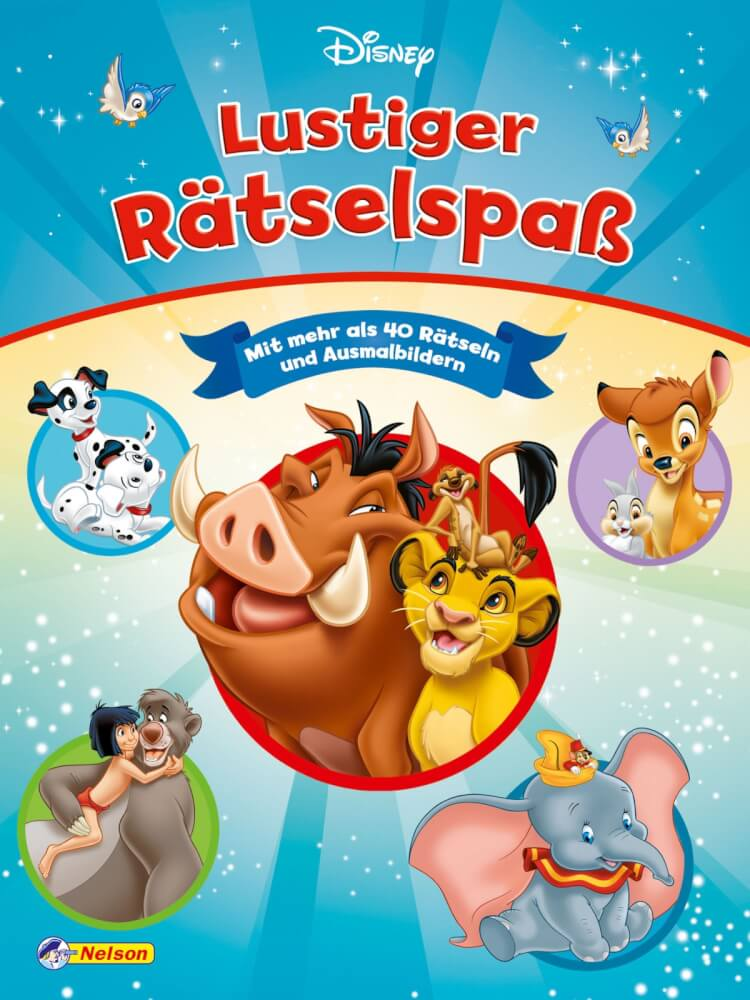 Disney Klassiker Lustiger Rätselspaß 510726 Jetzt Kaufen